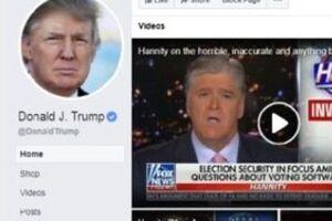 فیسبوک نیز ترامپ را رییسجمهوری آینده آمریکا نمیداند - کراپشده