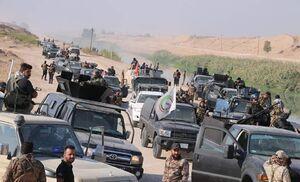 حملات گسترده نیروهای عراقی به داعش در الرطبه