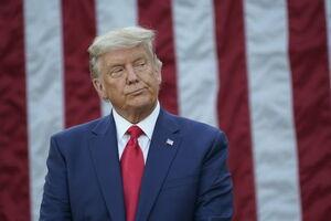 چهره ناراحت ترامپ در کاخ سفید