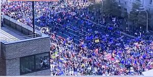 سخنگوی کاخ سفید: بیش از یک میلیون نفر از طرفداران ترامپ در واشنگتن حضور یافتند