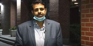 احمد نادری برای دومین بار به کرونا مبتلا شد
