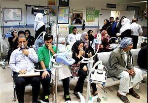 سه هزار و ۹۲۳ نفر آخرین آمار مراجعان تنفسی بارندگی در خوزستان