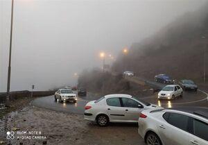 محدودیت ۳ روزه تردد در جاده چالوس/تردد در محورهای برونشهری ۹.۹ درصد افزایش یافت