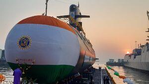 عکس/یک زیردریایی جدید برای ارتش هند