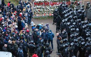 بیش از ۸۰۰ معترض در بلاروس بازداشت شدند