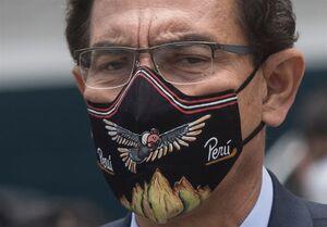 رئیس جمهور موقت پرو استعفا کرد
