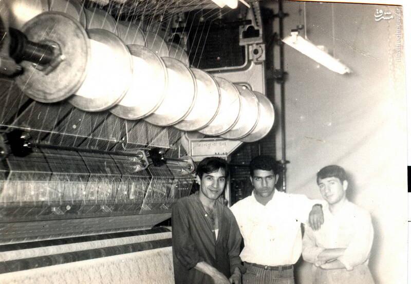 شهید حاج رضا قائمی(نفر وسط)