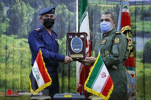 عکس/ دیدار فرماندهان هوانیروز ارتش ایران و عراق