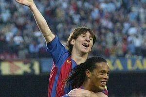 فیلم/کلیپ باشگاه بارسلونا از اولین بازی مسی