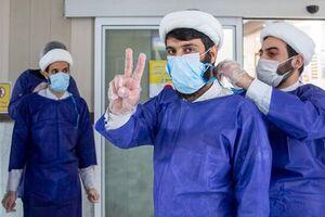 روایت طلبه جهادگر از خدمت به بیماران کرونایی/ شباهتهای مدافعین حرم و مدافعان سلامت - کراپشده