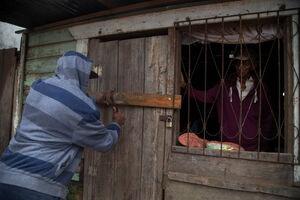 عکس/ آماده سازی نیکاراگوئه برای مقابله با طوفان یوتا