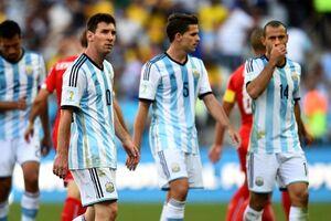 واکنش مسی به خداحافظی همتیمیهای خود در آرژانتین