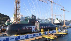 یک زیر دریایی جدید برای کره جنوبی+عکس