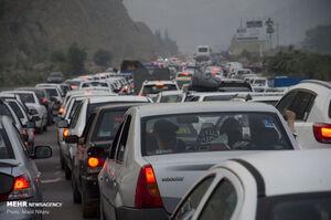ممنوعیت تردد در جاده چالوس
