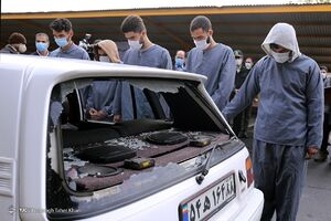 عکس/ دستگیری زورگیران آزادراه تهران - شمال