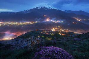 زیبایی روستای ملار در یال دماوند +عکس