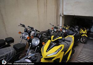 کشف انبار احتکار موتورسیکلت در تهران