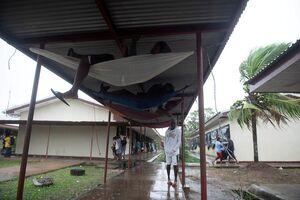عکس/ سرپناه عجیب برای طوفان زدگان نیکاراگوئه