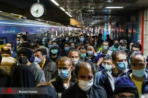 وضعیت مترو تهران بعد از ساعت 18