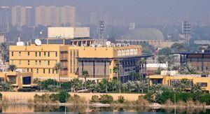 واکنش سفارت آمریکا به حمله موشکی منطقه «سبز» بغداد