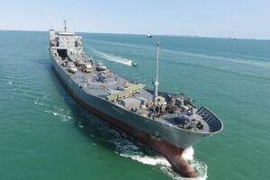 فیلم/ الحاق یک ناو اقیانوس پیما به نیروی دریایی سپاه