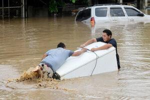 هندوراس زیر آب