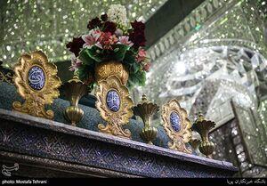 عکس/ گل آرایی حرم حضرت عبدالعظیم(ع)