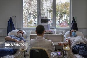 ازدحام داوطلبان در پایگاههای اهدای خون و درخواست سازمان انتقال خون