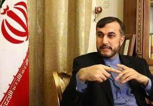 امیرعبداللهیان: باید «اسلحه تحریم» را از دست تروریستهای کراوات زده گرفت