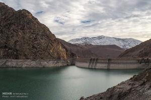برداشت آب از سدهای تهران جیره بندی شد