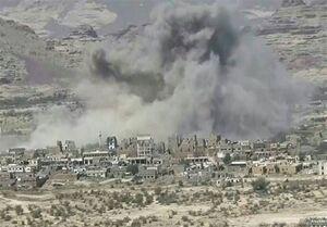حملات موشکی و توپخانه متجاوزان سعودی به صعده