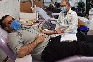 داوطلبین اهدای خون در سامانه اینترنتی نوبت بگیرند