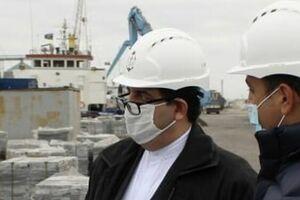 بازدید سفیر ایران از بندر هوسان در باکو - کراپشده