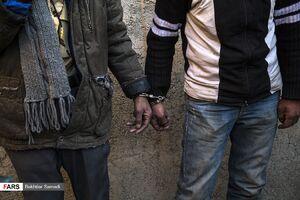 عکس/ جمعآوری معتادان متجاهر در سنندج