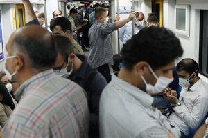فیلم/ چراغ سبز تهران به کرونا در مترو!