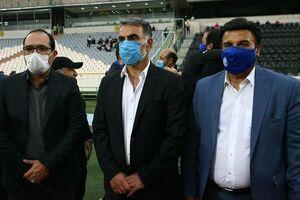 مظلومی: متاسفم برای کسانی که نام خود را فوتبالیست ملی گذاشتند