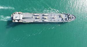 اسرائیل: ناو اقیانوسپیمای ایران؛ یک «زرادخانه شناور» است