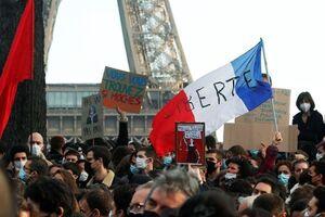 فرانسه| تظاهرات چند هزار نفری علیه طرح ممنوعیت تصویربرداری از خشونت پلیس