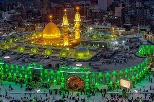 حضور هیئت های کربلایی در حرم امام حسین(ع)+ فیلم