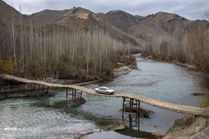 عکس/ تنها روستای بدون کوچه ایران