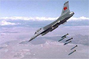 ترکیه از حمله به مواضع «پ.ک.ک» در شمال عراق و سوریه خبر داد