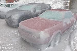 تصاویری جدید از یخ زدگی در شرق روسیه