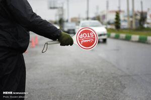 ورود ۳۰۰۰ خودرو با پلاک غیربومی به شهرهای مازندران جلوگیری شد
