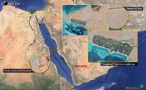 نخستین تصویر ماهوارهای از حمله موشکی انصارالله یمن به تاسیسات آرامکو عربستان