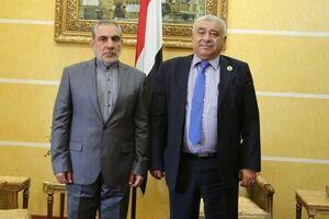 سفیر ایران با وزیر کشاورزی یمن دیدار کرد