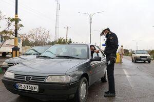 عکس/محدودیت تردد در سمنان