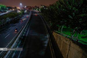 عکس/ شبهای خاموش تهران