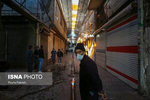 عکس/ اجرای محدودیتهای کرونایی در همدان