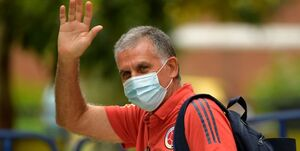 خداحافظی واتساپی کیروش از تیم کلمبیا
