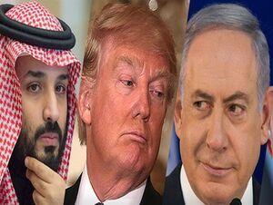 ترامپ نتانیاهو بن سلمان